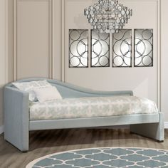 Hillsdale Furniture Olivia Upholstered Daybed | from hayneedle.com