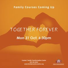 TOGETHER FOREVER MARRIAGE PREPARATION COURSE MON 31 OCT 6.15PM 5 DAYS | R180pp