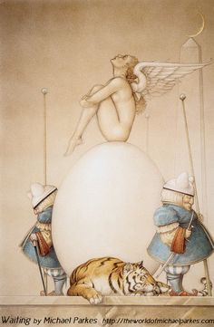 Michael Parkes - always very interesting pieces