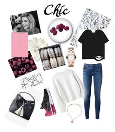 """""""Chic"""" by luciboys ❤ liked on Polyvore featuring Kenzo, Hudson, Marc by Marc Jacobs, Express, NIKE, Chicnova Fashion, women's clothing, women, female and woman"""