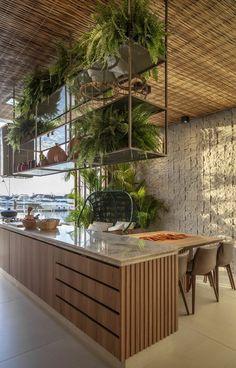 Modern Kitchen Design, Interior Design Kitchen, Home Decor Styles, Cheap Home Decor, Dream Home Design, House Design, Deco Restaurant, Kitchen Trends, Home Decor Kitchen