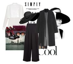 """""""soft chic"""" by claire86-c ❤ liked on Polyvore featuring Valentino, NARS Cosmetics, Calvin Klein Collection, Marc Jacobs, Thierry Lasry, Chanel, NYX and vintage"""