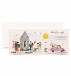 Wedding Send-Off Single Folded Card