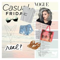 """""""summer must have"""" by evshion on Polyvore featuring Topshop and Revo"""