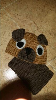 Cão crochet