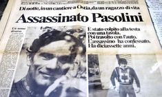 Dove si consuma l'infido Pasolini non perdonò mai i partigiani che ammazzarono il fratello     di Matteo Tassinari ... Famous People, Gay, Cinema, Culture, Film, Celebrities, Memes, Writers, Movie