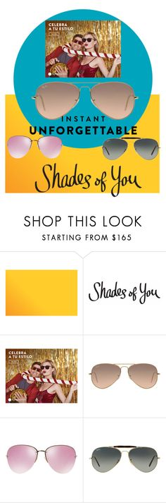 """Shades of You: Sunglass Hut Contest Entry"" by elza-345 ❤ liked on Polyvore featuring Ray-Ban, Miu Miu and shadesofyou"
