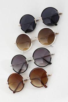 5f61aeeb345 Round Frame Fashion Sunglasses Sunglasses 2017