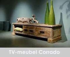 TV-meubel driftwood Corrado 3 laden 160x50x40 (2)