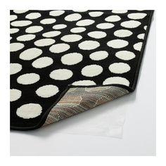ULLGUMP Vloerkleed, laagpolig IKEA Slijtvast, vlekbestendig en onderhoudsvriendelijk omdat het kleed is gemaakt van synthetische vezels.