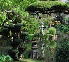 Le Parc Oriental de Maulévrier, plus grand jardin japonais d'Europe / Maine et Loire Le Hangar, Garden Waterfall, Garden Trees, Parcs, Garden Sculpture, Aquarium, Outdoor Decor, Zen Gardens, Japanese Gardens