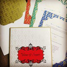 Custom wedding cards/wedding invitations / wedding design