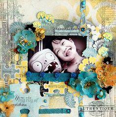 Authentique Paper: Guest Designer: Irene Tan