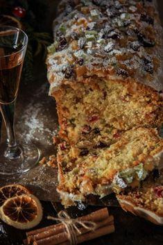 Fruit Pound Cake with Orange glaze – Cau de sucre Candied Fruit, Modern Cakes, Pan Dulce, How To Make Cookies, Base Foods, Recipe Today, Pound Cake, Original Recipe, Crack Crackers