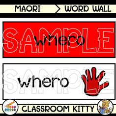 Bring a bit of Australia into your classroom this year. Impress your students with these word wall cards to learn words from the Bunganditj (Boandik) Language with colours. The Boandik aboriginal people lived in the South-East of South Australia. Aboriginal People, Color Names, Teaching Kids, Lesson Plans, New Zealand, Language, Clip Art, Classroom, Kitty