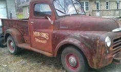 """50's Dodge p-u, """"pilothouse"""""""