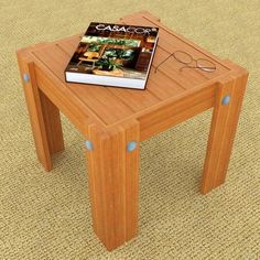 End Table Woodworking Plan by Tom Pritchard