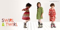 Girls Dresses at teacollection.com.