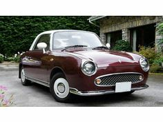 Nissan Figaro convertable. Superb, rare and quirky