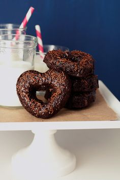 Double Chocolate Heart Doughnuts | 44 Valentine's Day Treats To Melt Your Heart