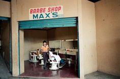 Janet Delaney -Barbershop at the Mercado Oriental.