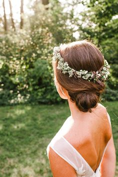 Discover the vendors responsible for this stunning event, and book them for your big day. Only on Zola. Chignon Wedding, Low Chignon, Flower Crowns, Wedding Vendors, Fairytale, Hair Ideas, Wedding Hairstyles, Bride, Celebrities