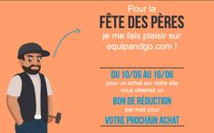 #fetedesperes pour une commande sur notre #siteinternet entre le 10 et le 16 juin, gagnez un bon de #réduction pour votre prochain achat !