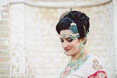 Muslim Bride, Asian Wedding, Cams Hall, Hampshire