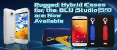Go to CellJewel.com to get one of our New Rugged Hybrid Cases for the BLU Studio 5.0
