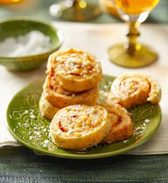 Pizza biscuits: With dough, sauce, herbs and cheese, this is pizza, but not as you know it! The more-ish spirals will fix hunger cravings, pronto!