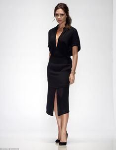 Star of the show! Former Spice Girl Victoria Beckham proved her sartorial worth once again as she pulled off another triumphant runway show at New York Fashion Week on Sunday