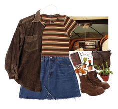 A fashion look from October 2017 featuring Dr. Martens ankle booties and DUBARRY shoulder bags. Browse and shop related looks. Retro Outfits, Grunge Outfits, Vintage Outfits, Cool Outfits, Summer Outfits, Casual Outfits, 80s Fashion, Look Fashion, Vintage Fashion