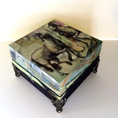 Art Box II - mixed media with Craft Attitude, some images, credit to Itkupilli  Trudi Sissons - Two Dresses Studio