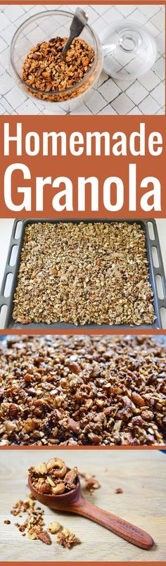 Never buy granola at the store again with my easy-peasy, super flexible homemade granola formula. What flavorings are you going to use?