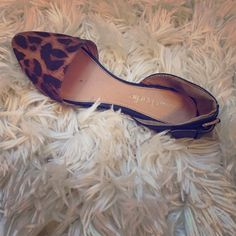 Cheetah flats Nice cheetah and black charming Charlie flags. Great condition. Charming Charlie Shoes Flats & Loafers
