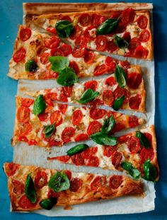 Goat Cheese and Tomatoes Tart Puff pastry – 400 g Goat cheese – 1/2 cup Ricotta – 1/2 cup Cream – 1/4 cup Eggs – 3 pcs Black pepper – 1/4 tsp Coriander – 1 tablespoon Cherry tomatoes The oven heat to 165C/329F.