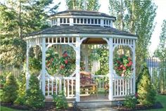 enchanting romantic gazebos | Bed and Breakfast in Missoula | Romantic Gardens at our Missoula B&B