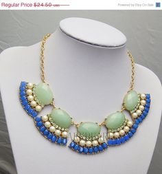ON SALE 2013 new bubble necklacebeadwork by Arkpearl on Etsy, $22.05
