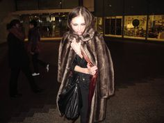 give me this fur coat!  by yvan rodic in london