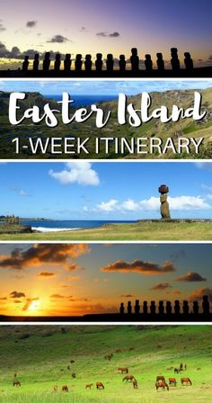 Easter Island Travel Itinerary // Places to visit in Rapa Nui and activities to try on your visit!