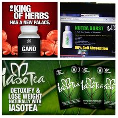Healthy Trio!!! Gano-Fits anyone who has any type of problem from high blood pressure,diabetes, cancer, tumors,etc. Nutra burst is 98% absorbent into the blood and gives you a full dosage of vegetables and fruits daily, boost your metabolism and your immune system in just a tablespoon per day! Tea-gentle,natural,detox-100% organic. Lose up to 5 pounds in five days, get rid of unwanted toxins. http ://dietsnomas.wordpress.com/