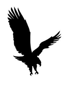MTCSCAL e-files: a full eagle in flight silhouette Adler Silhouette, Bird Silhouette, Silhouette Projects, Eagle Outline, Eagle Art, Eagle In Flight, Birds In Flight, Stencil Art, Stencils