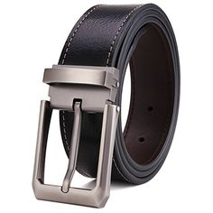 52e60c04b Tonly Monders Reversible Men's Leather Belt Rotated Buckle Black, Inch  Wide, 40 41 42 43 Waist L. Md Kamrul Hasan Chowdhury · Stylish Belt for  Women ...