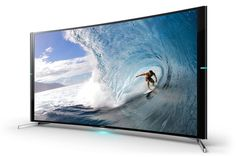 Sony S90 curved 4K TV Ultra HD Television surf