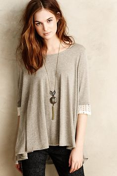 Peri Swing Tee #anthrofave #anthropologie.com