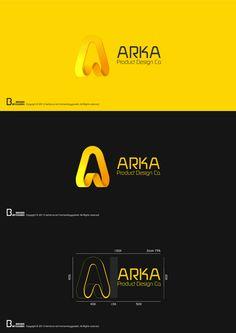 ARKA Product Design Co. - Logo Design by Mohsen Beygzadeh #logo