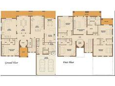 6 bedroom house layout | design ideas 2017-2018 | Pinterest ...