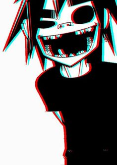 Gorillaz it's 2D in 3D xp