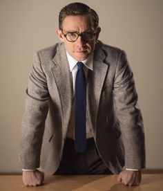 """Martin Freeman in a promotional photo for """"The Eichmann Show"""""""