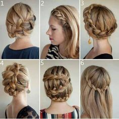 Style in hair Style in hair Hair Style Ideas hair diy hair ideas easy diy diy beauty diy hair How to Different Braid Hairstyles, Different Braids, Pretty Hairstyles, Cute Hairstyles, Braided Hairstyles, Style Hairstyle, Hairstyle Ideas, 1930s Hairstyles, Hairdos